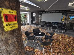 Partial lockdown is under way in Germany (AP Photo/Martin Meissner)