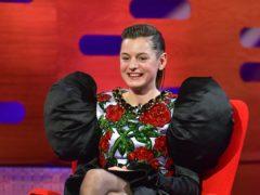 Emma Corrin on The Graham Norton Show (So TV/PA)