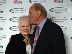 Dame Judi Dench and Geoffrey Palmer (Kirsty O'Connor/PA)
