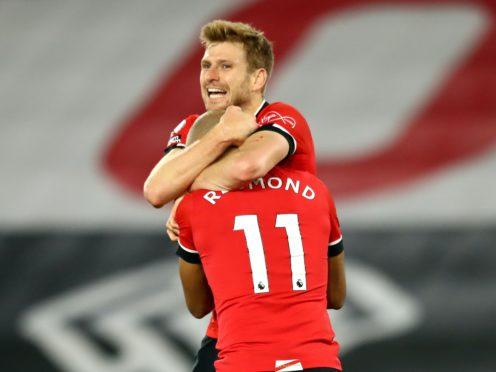 Southampton beat Newcastle to move top of the Premier League (Michael Steele/PA)