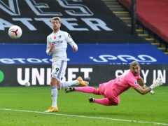 Patrick Bamford's goal was ruled out (PA)