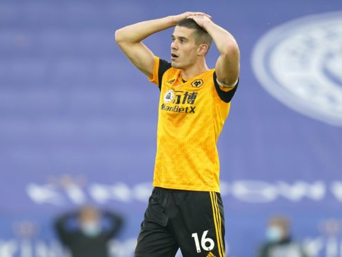 Conor Coady missed his first league game for Wolves since 2017. (Tim Keeton/PA)