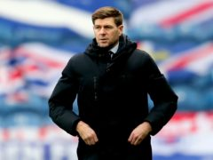 Rangers manager Steven Gerrard saw his side thump Hamilton 8-0 (Jane Barlow/PA).