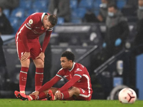 Trent Alexander-Arnold is the latest Liverpool player to be injured (Shaun Botterill/PA)