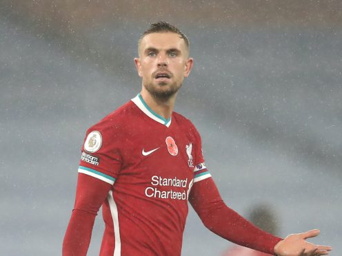 "Jordan Henderson says Liverpool ""need to adapt"" and manage their injury-hit squad (Martin Rickett/PA)"