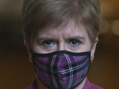 The First Minister said there are no plans in place to cut the self-isolation period (Fraser Bremner/Daily Mail/PA)