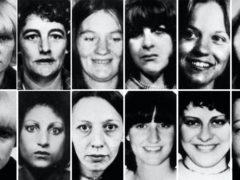 Here are 12 of the 13 victims of Peter Sutcliffe (PA)