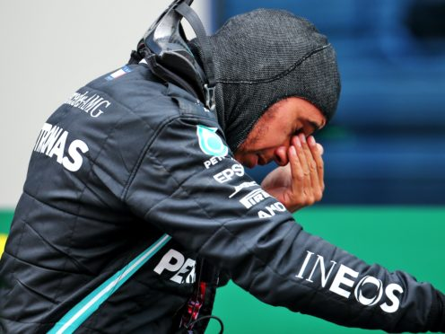Lewis Hamilton clinched his seventh world championship title (PA Wire)