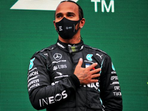 Lewis Hamilton (pictured) should not be denied a knighthood over his tax status according to Motorsport UK chairman David Richards (PA Wire/PA Images).