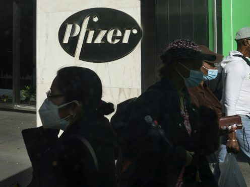Pfizer is seeking emergency use of its Covid-19 vaccine in the US (AP/Bebeto Matthews, File)