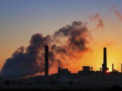 The Dave Johnson coal-fired power plant (J. David Ake/AP)