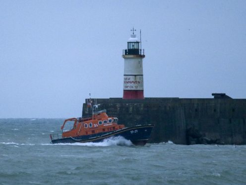 The search for two fishermen missing off the coast of Seaford has been called off (Steve Parsons/PA)