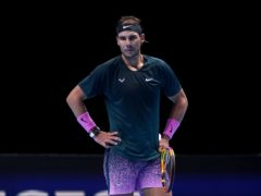 Rafael Nadal looks despondent during his loss to Daniil Medvedev (John Walton/PA)