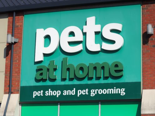 Pets At Home has seen a 'baby boom' in new owners (Mike Egerton/PA)