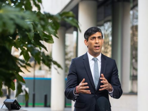 Rishi Sunak said the localised tiered system is a 'far better way' to tackle Covid-19 (Dominic Lipinski/PA)