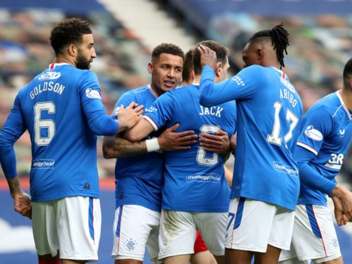 Rangers moved 11 points clear (Andrew Milligan/PA)
