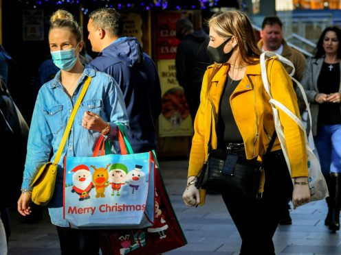 The Prime Minister is to set out the basis of plans for the festive period on Monday (Ben Birchall/PA)