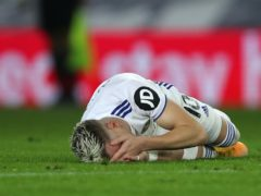 Leeds United's Ezgjan Alioski reacts (Molly Darlington/PA)