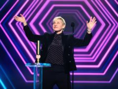 The Ellen DeGeneres Show was named the year's best daytime talk show at the E! People's Choice Awards, despite controversy over an alleged toxic environment on set (Christopher Polk/E! Entertainment/NBCU Photo Bank via Getty Images)