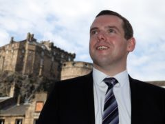 Scottish Tory leader Douglas Ross wants the UK Government to guarantee furlough will be paid in Scotland if the country needs a second lockdown (Andrew Milligan/PA)