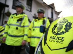 Police Scotland said work was being done to identify those involved (Andrew Milligan/PA)