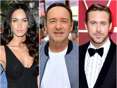 Megan Fox, Kevin Spacey and Ryan Gosling have all been replaced in high-profile films (Matt Crossick/Ian West/PA)