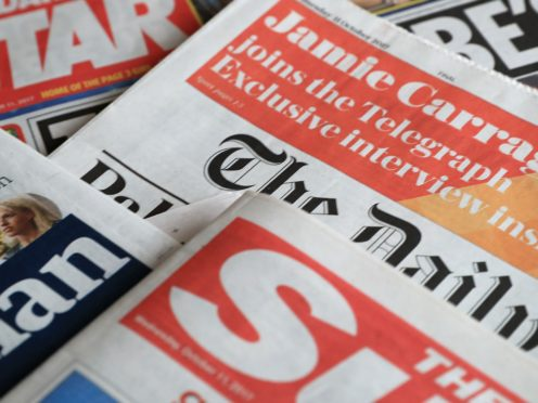 What the papers say – November 12 (PA)