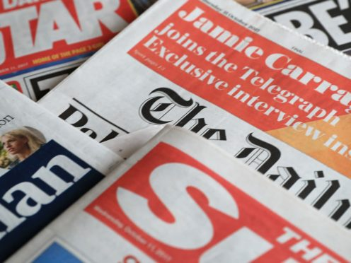 What the papers say – November 13 (PA)