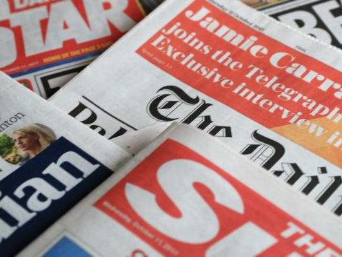 What the papers say – November 9 (PA)