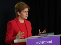 The £500 self-isolation support grant is being extended to include parents on low incomes whose children are asked to self-isolate, Nicola Sturgeon said (Scottish Government/PA)