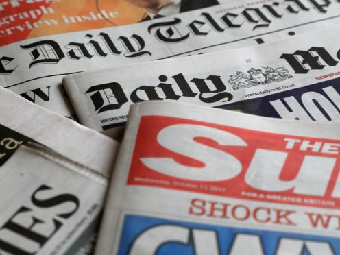 What the papers say – November 10 (PA)