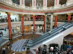 The Trafford Centre in Manchester is now owned by CCPIB (Dave Thompson/PA)