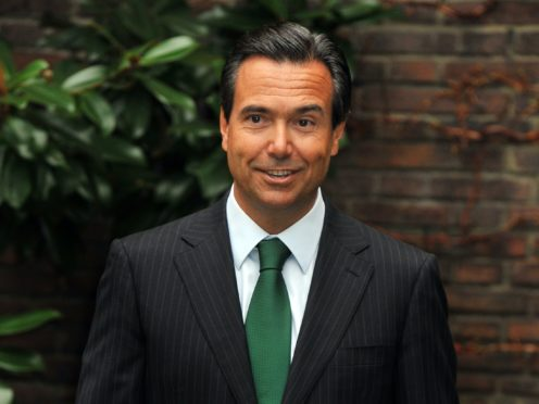Lloyds Banking Group's outgoing chief executive Antonio Horta-Osorio has been named as the next chairman of investment bank Credit Suisse (PA)
