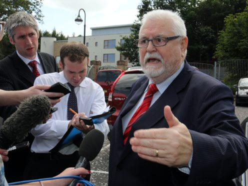 Lord Maginnis has been recommended for suspension from the House of Lords (Paul Faith/PA)