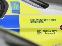 A police car collided with a teenage boy in Stockport (PA)