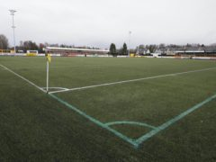 The Indodrill Stadium will host Hibs (Jeff Holmes/PA)