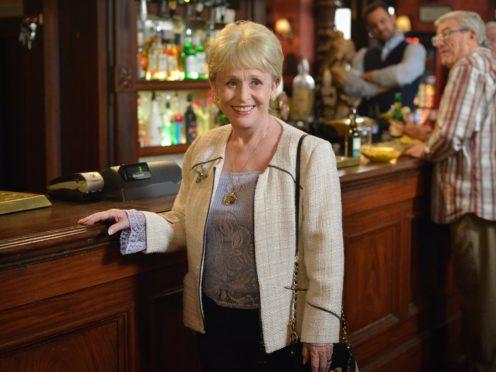Peggy Mitchell, played by Barbara Windsor (Kieron McCarron/BBC/PA)