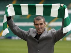 Roy Keane signed for Celtic on this day in 2005 (Andrew Milligan/PA)