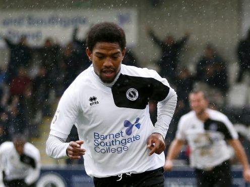 Former Boreham Wood midfielder Angelo Balanta opened the scoring for Dagenham (Paul Harding/PA)