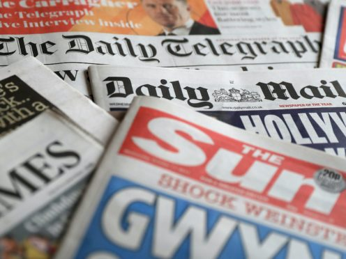 What the papers say – December 1 (PA)