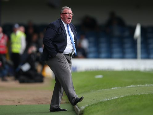 Gillingham boss Steve Evans is set to make changes (Chris Radburn/PA)