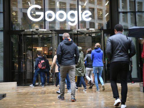 A Google office (Stefan Rousseau/PA)