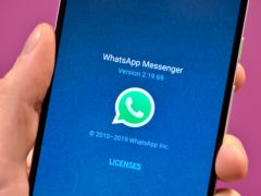WhatsApp hits out at Apple over new App Store privacy rules (Nick Ansell/PA)