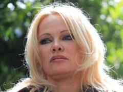 US actress Pamela Anderson (PA)
