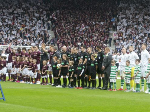 Hearts will face Celtic in Sunday's delayed Scottish Cup final (Jeff Holmes/PA)