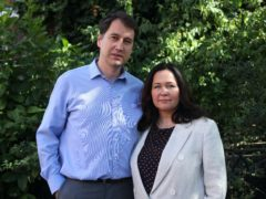 Nadim and Tanya Ednan-Laperouse, the parents of 15-year-old Natasha Ednan-Laperouse (Yui Mok/PA)