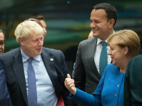 Prime Minister Boris Johnson's offer of a meeting with EU leaders, including German Chancellor Angela Merkel, has been knocked back (Stefan Rousseau/PA)