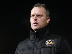 Michael Flynn's Newport sit at the top of the League Two table (Joe Giddens/PA)