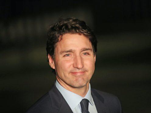 Canadian Prime Minister Justin Trudeau (Steve Parsons/PA)