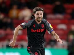 Wales midfielder Joe Allen made a return for Stoke Under-23s on Monday after being out for over nine months (Richard Sellers/PA)